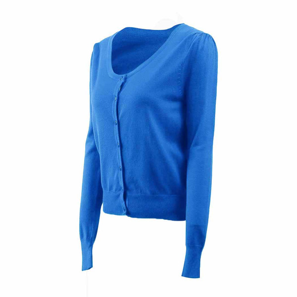 Women Cardigan Sweater Spring Autumn Knitted Button Cardigans Jacket Fashion Ladies Solid Color Slim Sweaters Coat Pull Femme