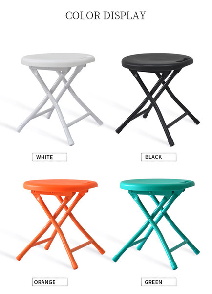 Admirable Folding Stool Small Plastic Sitting Stool Metal Space Saving Furniture Cheap Lightweight Portable Small Round Folding Step Stool Fishin Cheap Outdoor Pabps2019 Chair Design Images Pabps2019Com