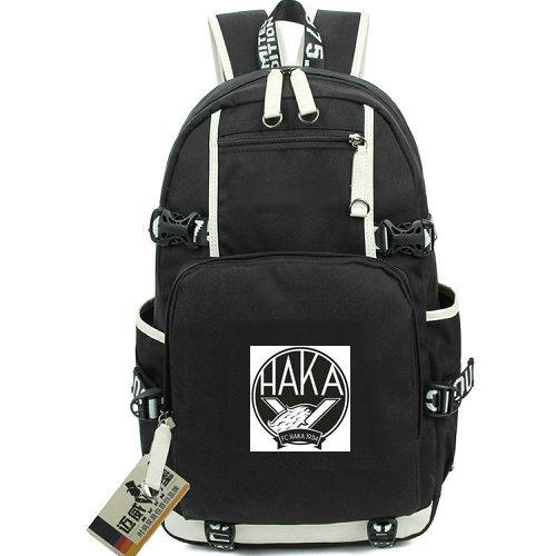 FC Haka backpack Good club day pack Finland Football school bag Soccer packsack Computer rucksack Sport schoolbag Outdoor daypack