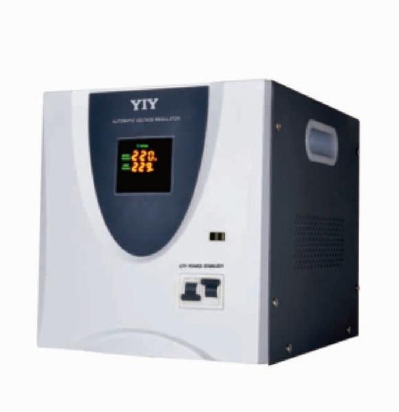 10KVA YIY AC otomatik voltaj regülatörü Sabitleyici AVR3 serisi 10000VA MCU KONTROL TEK FAZ 1-FAZ 50 / 60Hz