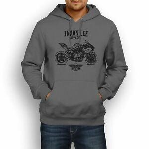 Jaxon Wholesale Wholesale Wholesale H2R Motorcycle illustration Hoodie