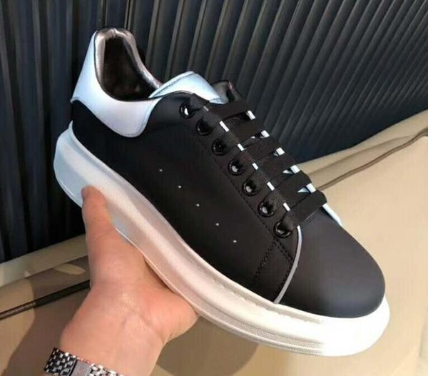 Updated version Spring Collection Men Sneakers,ze33 Multicolor Casual Shoes Leather Flats for Women and Men on the Go