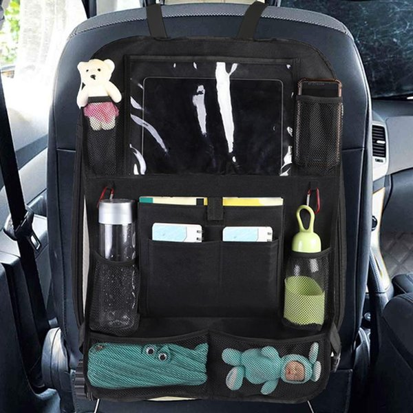 Truck Seat Organizer >> Oxford Fabric Car Seat Organizer Truck Back Seat Chair Multi Pocket Auto Storage Bag With Touch Screen Film How To Make A Car Seat Organizer In Car