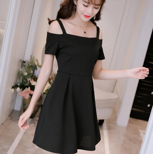 Spring Summer New Women's Decorated Casual Dresses Slim Fashion Knitted Large Dresses
