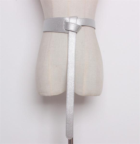 Color:silver&Belt Length:119cm