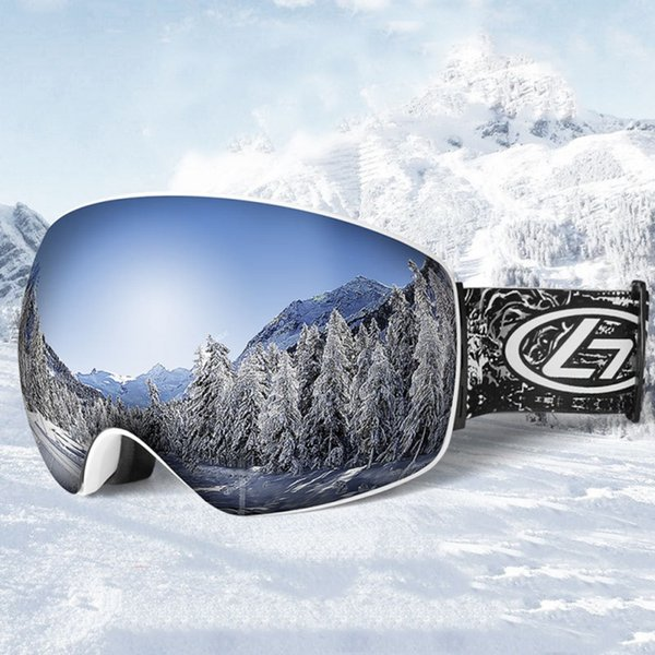 UV400 ski goggles double layers anti-fog big ski mask glasses skiing unisex snow snowboard goggles Glasses