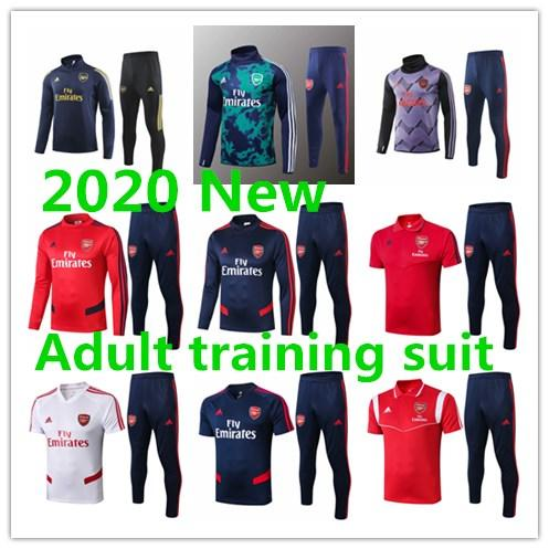 Thai 19 20 Arsen football Survêtements TIERNEY survetement 2019 2020 PEPE à long footing manches sportswaer NICOLAS Survêtement veste de football
