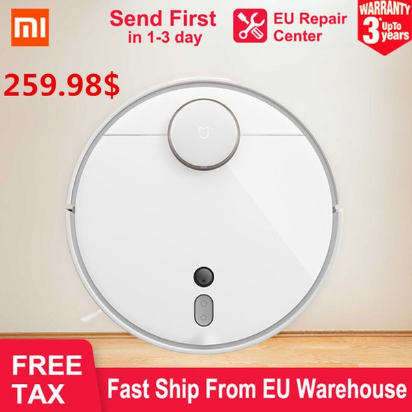 NEW 2019 XIAOMI MI Robot Vacuum Cleaner 1s Smart Planned Cleaning LDS AI  Location Auto Charge WIFI APP Control Aspirador EU Sto Smarthouse Smart  Homes