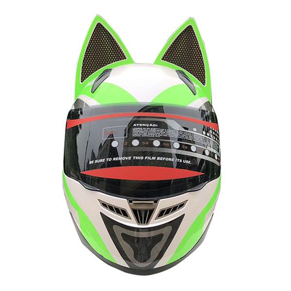 NITRINOS Motorcycle Helmet Women Full Face Motocross Helmet Moto Motorbike Scooter Riding Racing Casco Moto 24 Colour