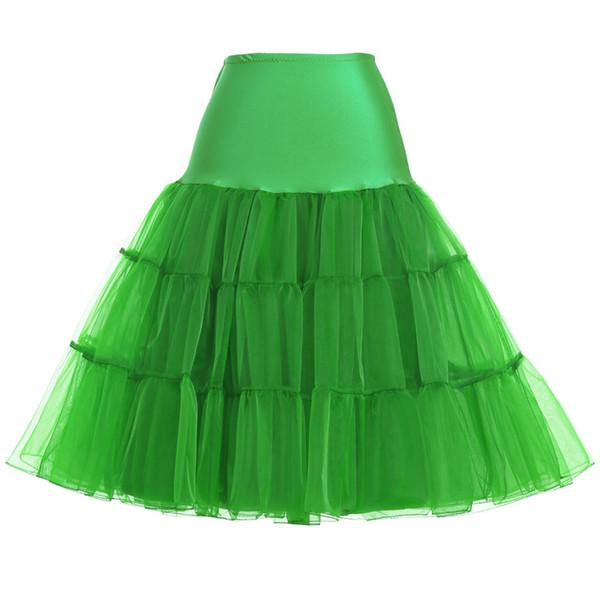 Enagua verde