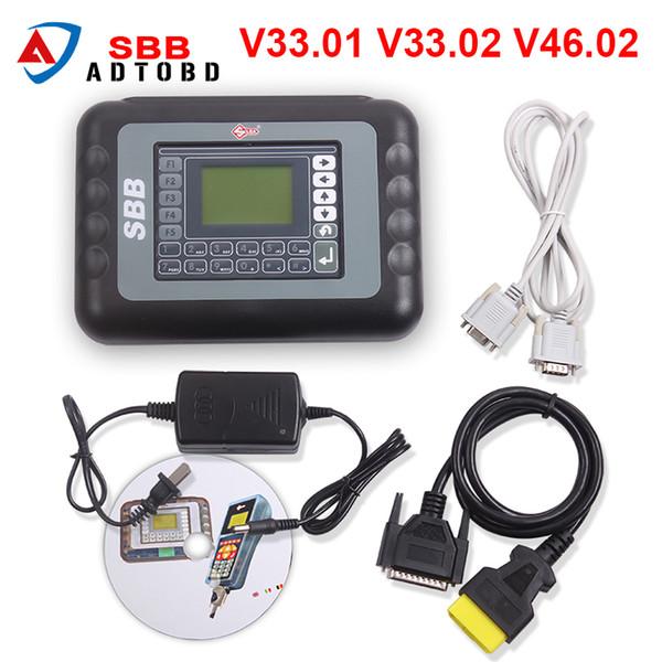 No Token SBB V46.02 Immobilizer Programmer Support Add More cars Than V33.02 Same as CK100 V46.02 Auto Key Programmer