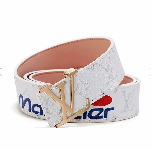 Fashion Designers Belts for Men Belts Designers Belt Luxury Belt Leather Classical Belts Women Big Gold Silver Smooth Buckle with Box