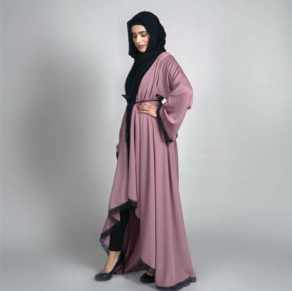 Vestito da musulmano del nuovo di stile di modo elegante del Medio Oriente delle donne musulmane del pannello esterno lungo bello di temperamento del sesso