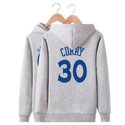 Stephen Curry hoodies Best player fleece Nice shirts clothing Basketball star coat Outdoor cotton jacket Brushed sweatshirts