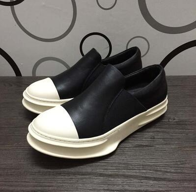 Hip hop hombre top top diseñador casual zapatos 039 zapatillas amantes Tenis Sapato masculino plataforma retro Zapatillas Zapatillas con cremallera 35-47 12