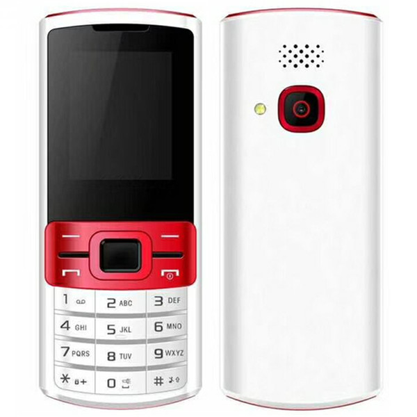 "Unlocked 3370 Mobile phone 1.77"" QCIF Screen 8W camera 64G RAM 32G ROM Dual Sim card GSM Cellphone multi-language"