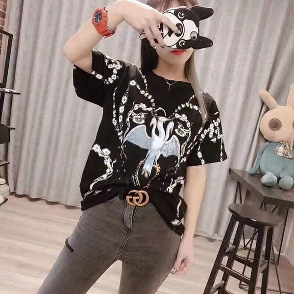 2019 новая женская футболка с короткими рукавами 0190606 # 05
