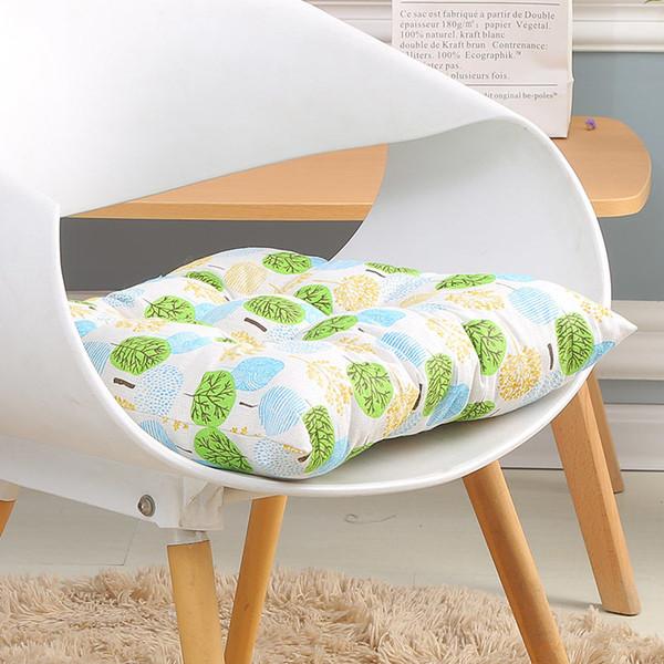 Square Kitchen Chair Pad Decorative Cushion For Sofa Floor Cushion Office  Chair Pillow Home Decoration Textile Comfortable Mat Forward Facing Car  Seat ...