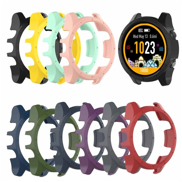 Replacement Light-weight Smart Protector Case Silicone Skin Protective Case Cover for Garmin Forerunner 935 Sports Watch