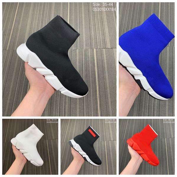Zapatos de calcetín de lujo Zapatos casuales Speed Trainer Zapatillas de deporte de alta calidad Speed Trainer Calcetín Race Runners zapatos negros hombres y mujeres Zapatos de lujo M3