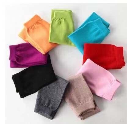 Kız sonbahar ve kış çocuklar tasarımcı giyim sıcak pantolon çeşitli renkleri tozluklarını