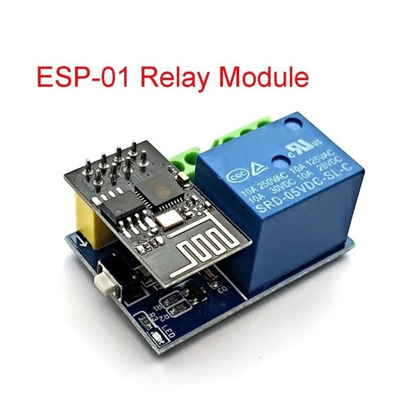 AMES Accessoires Pièces de rechange 8266 ESP-01 5V WIFI Module de relais Choses Smart Home Remote Commutateur de télécommande pour l'application téléphonique ESP01 WIL ...