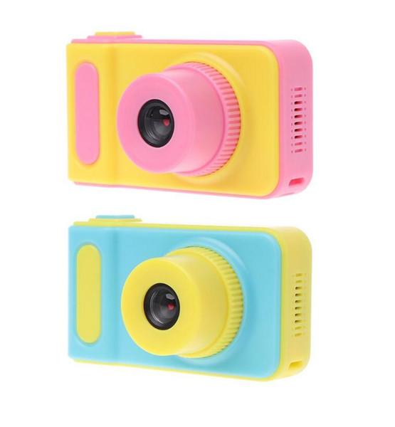 Дети камера мини цифровая камера милый мультфильм Cam 1080P малыш игрушки дети подарок на День рождения 2-дюймовый экран Cam для детей