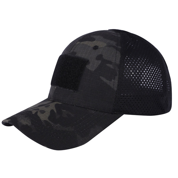 Sports de plein air Camo Marine Chapeau De Marine Marines Armée De Tir Combat Assaut Baseball Cap Tactical Camouflage Cap SO07-011