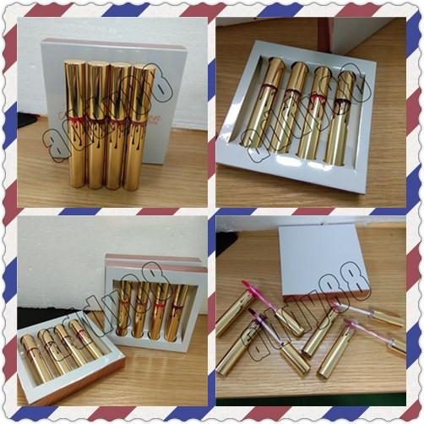 KOKO KOLLECTION Limited makeup 4pcs/set KL Liquid matte KOKO Kollection by KL cosmetics 4 Colors Lipgloss