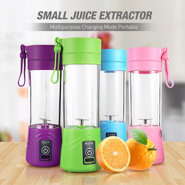 Multipurpose Portable Blender Extractor Machine Usb Charging Household 380ml Egg Whisk/food Small Cut Mixer Juicer Cup C19041803