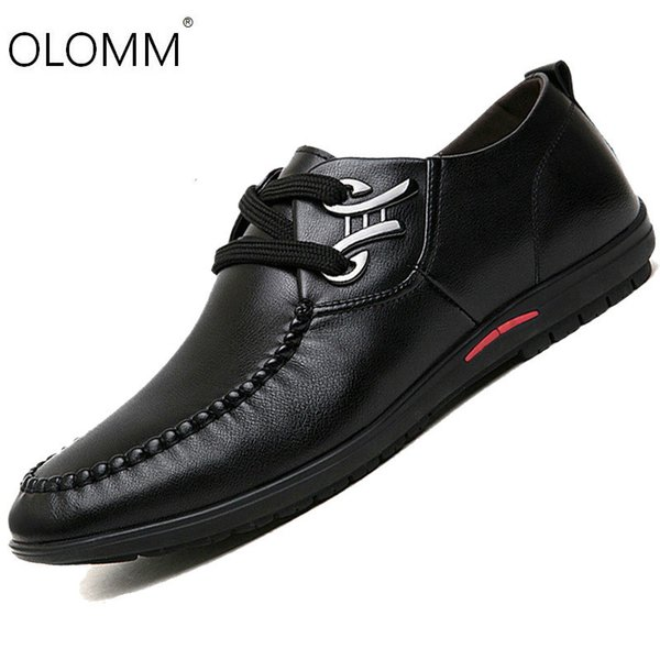 Autumn and Winter New Breathable Mens Shoes Fashion Casual Business Belt Men Zapatos De Hombre Mens Loafers Sneakers