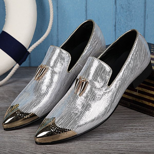 Sapato social men shoes leather slipon luxury gold tassel mens loafers dress shoes fashion casual shoe lasts