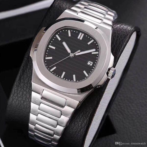 19 couleurs wholesles mens watch mouvement automatique Glide sooth seconde main verre saphir montres de haute qualité montre-bracelet