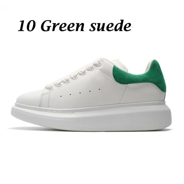 10 green suede