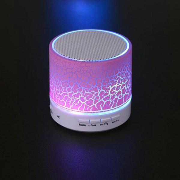 Led Mini Portable Wireless Speakers Bluetooth Speaker With Mic Tf C Fm Portable Speaker Usb Mp3 Subwoofer For Phone Computer A1