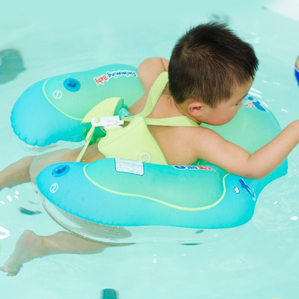 Kids Inflatable Tube Water Toys Aid Swimming Ring Pool Cute Cartoon Trainer Raft Baby Safety Infant Floating Summer Swim