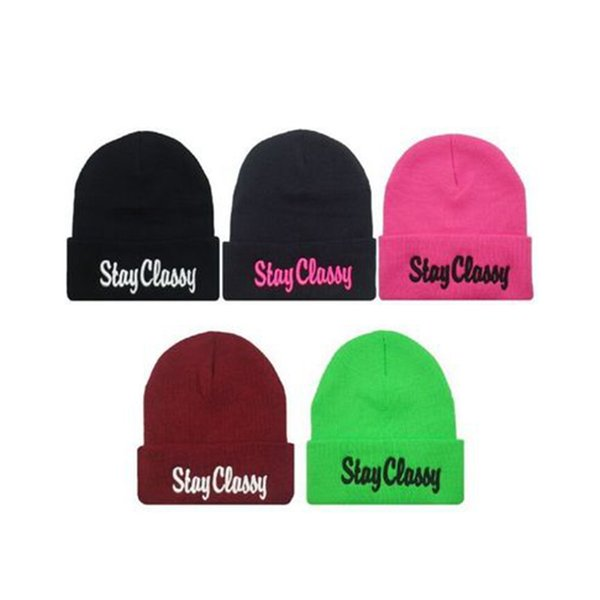 Designer S Letters Embroidery Beanies Hats Hip Hop Word Winter Hat For Adults Head Ear Warmer Acrylic Knitted Snow Cap 5 Colors ZZA928
