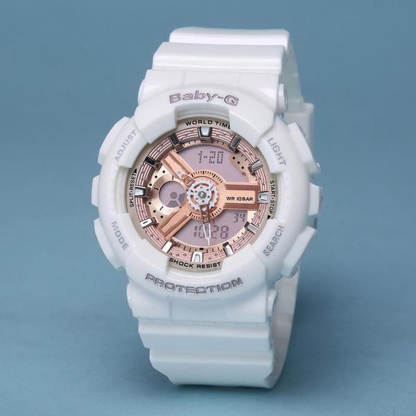 Relogio Masculion BABY with box Military Luxury Fashion Watch girl gift women Sport Watches Shock women g student Digital Watch