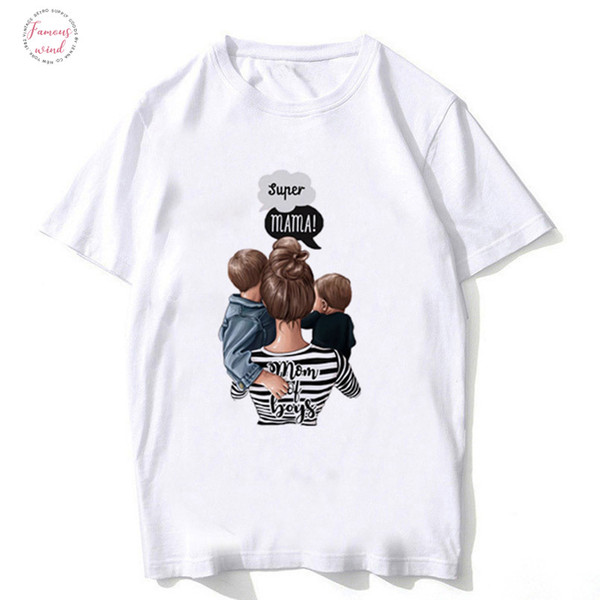 """boy shirt mother gives mother """"in the daytime give kamisetta vogue tshirt girl woman mothers shirt interesting shirt"""