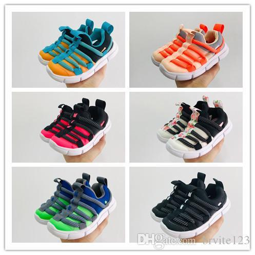 2019 kids Sports Shoes Spring and Summer Models Caterpillar Kids Shoes Fashion Non-slip Boys and Girls Casual Shoe