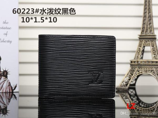 Hot! 2019 Wholesale Famous Brand Fashion Single Zipper Cheap Luxury Designer Women Pu Leather Wallet Lady Ladies Long Purse M01