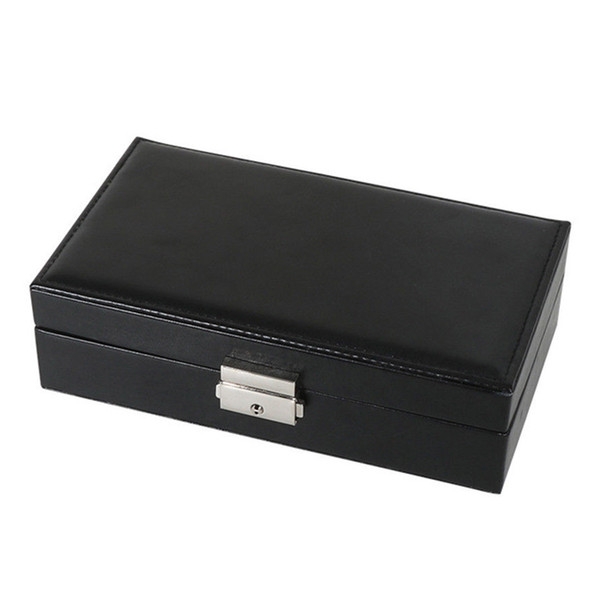 Portable Travel Simple Jewelry Multifunctional Storage Case Organizer Ornaments Box