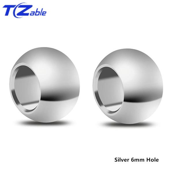 6mm Silber