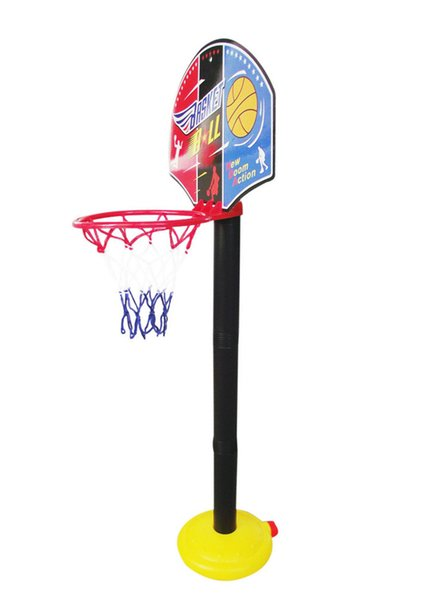 Can adjust the height basketball stands toy Super sport basketball stands+basketball+Inflator sets child fitness game kids gift