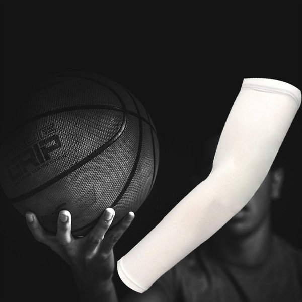 Men Women High Elastic Basketball Arm Sleeves Armband Soccer Volleyball Elbow Support Brace Sports Accessories sports Safety #321016