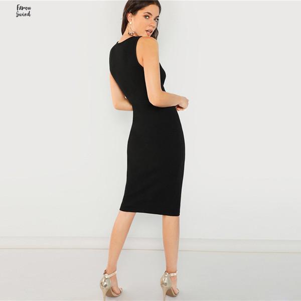 Slit Skirt Zurück Rüschensaum Tupfen Sexy Länge Herbst Keen Stretchy Rock mit hoher Taille elegante Frauen Röcke