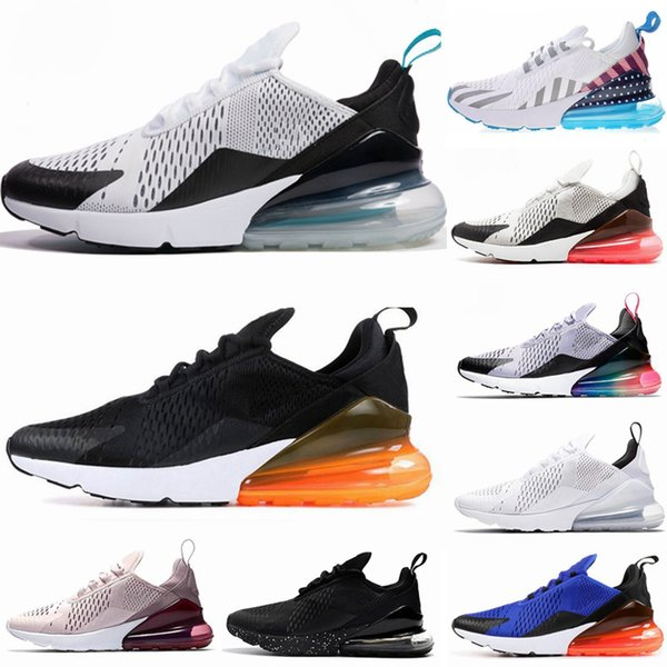 Acquista NIKE Air Max 270 27 Parra Hot Punch Foto Blu Del Mens Pattini Correnti Delle Donne Triple Bianco Rosso Università Di Oliva Volt Habanero 27C