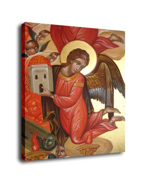 Cartoon Art The Angel,Oil Painting Reproduction High Quality Giclee Print on Canvas Modern Home Art Decor