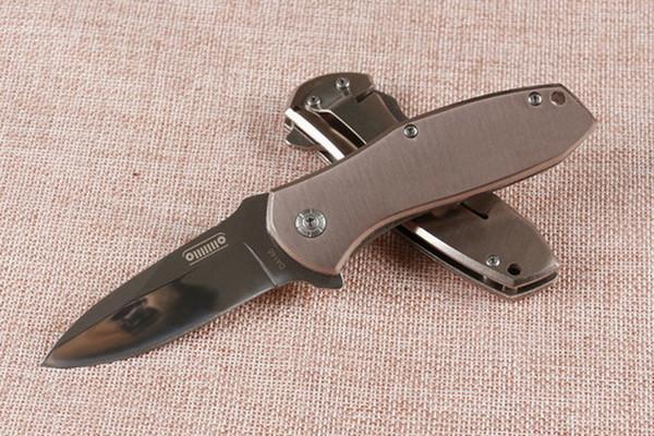 BM DA146 Быстрое открытие Складной нож 440C Зеркало лезвия сталь Ручка EDC MT Карманный нож на открытом воздухе кемпинга выживания ножа мужской Рождественский подарок