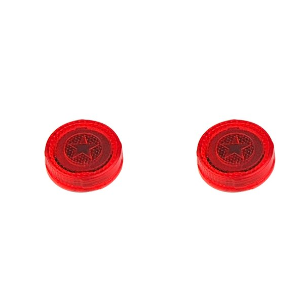 2Pcs Universal Wireless Vehicle LED Safety Light Warning Door Light, Red LED Strobe Flicker for Anti Rear-End Collision